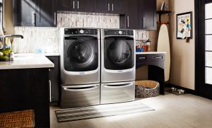 Image of a washer and dryer