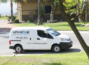 Image of a Universal Appliance Repair Van