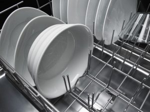 Close up image of a dishwasher