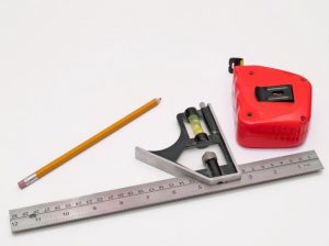 Image of a measuring tap and ruler