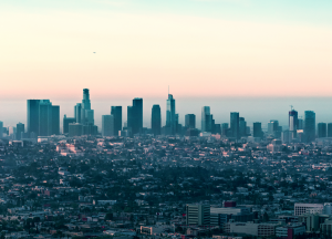 Image of the city of Los Angeles