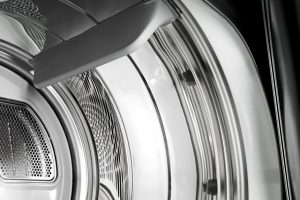 Close up image of a dryer