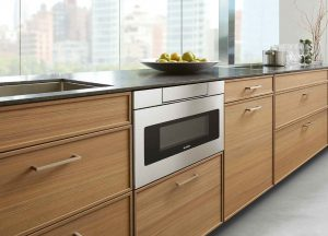 Image of a microwave from Sharp.