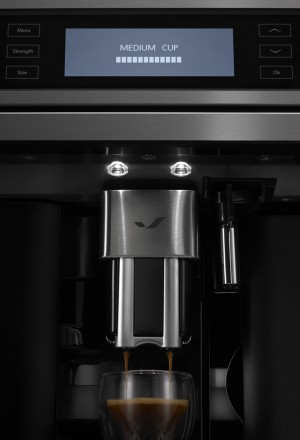 Close up image of a coffee maker